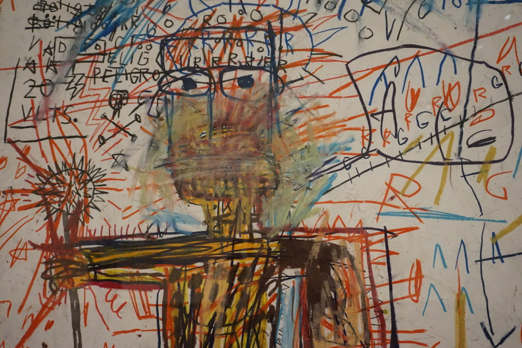 Vue de l'exposition Jean-Michel Basquiat - Fondation Louis Vuitton (49)
