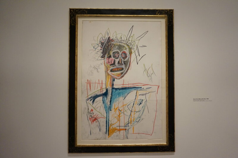 Vue de l'exposition Jean-Michel Basquiat - Fondation Louis Vuitton (51)