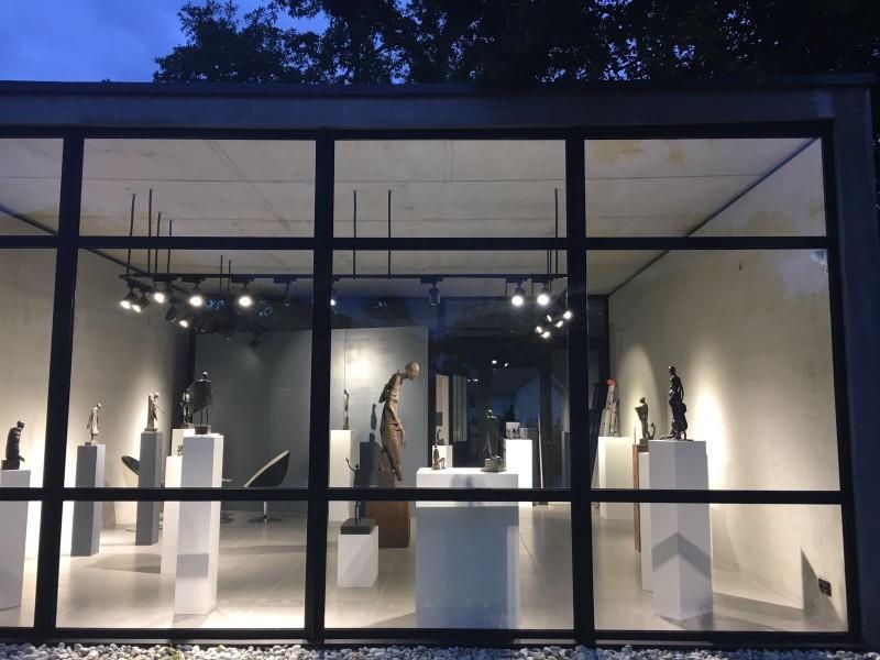 Vue de l'exposition Marc Petit - Airial Galerie (1)