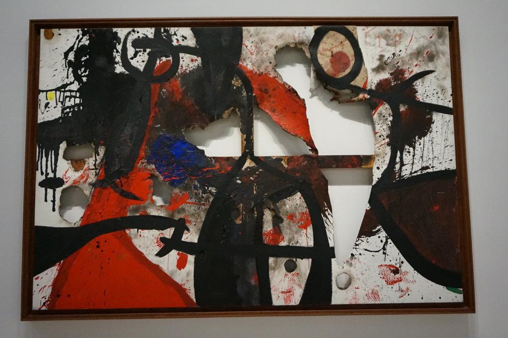 Vue de l'exposition Miro au Grand Palais - Paris 2018 (7)