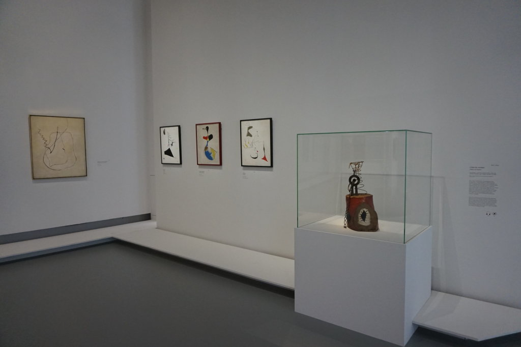 Vue de l'exposition Miro au Grand Palais - Paris 2018 (78)