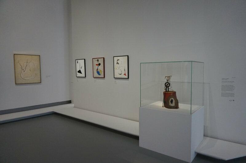 Vue de l'exposition Miro au Grand Palais - Paris 2018 (78)
