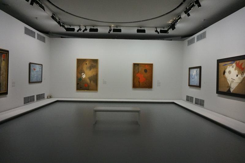 Vue de l'exposition Miro au Grand Palais - Paris 2018 (90)