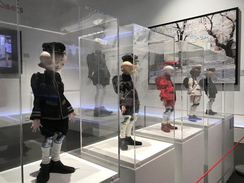 Vue de l'exposition Monstres, mangas et Murakami, Musée en herbe, Paris (100)
