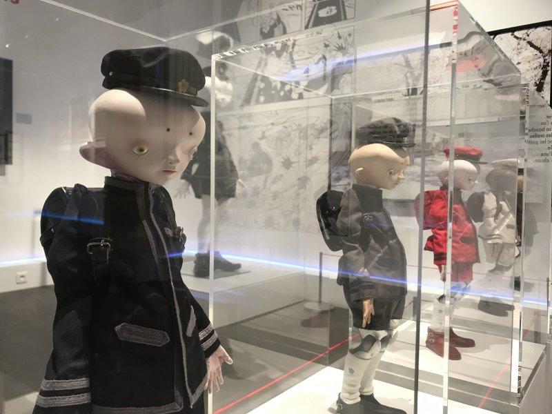 Vue de l'exposition Monstres, mangas et Murakami, Musée en herbe, Paris (101)