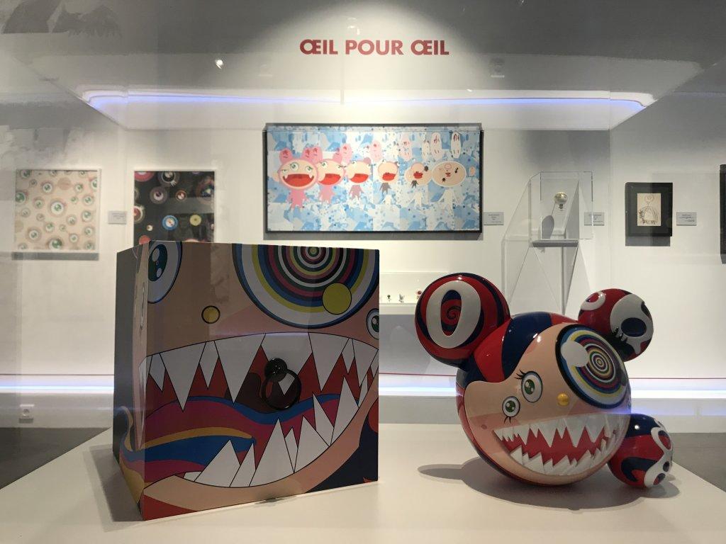 Vue de l'exposition Monstres, mangas et Murakami, Musée en herbe, Paris (104)