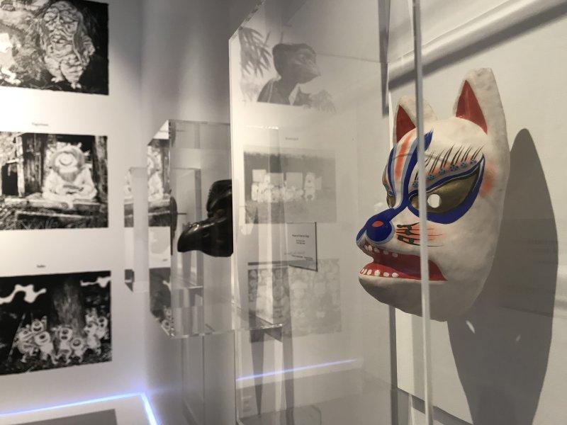 Vue de l'exposition Monstres, mangas et Murakami, Musée en herbe, Paris (105)