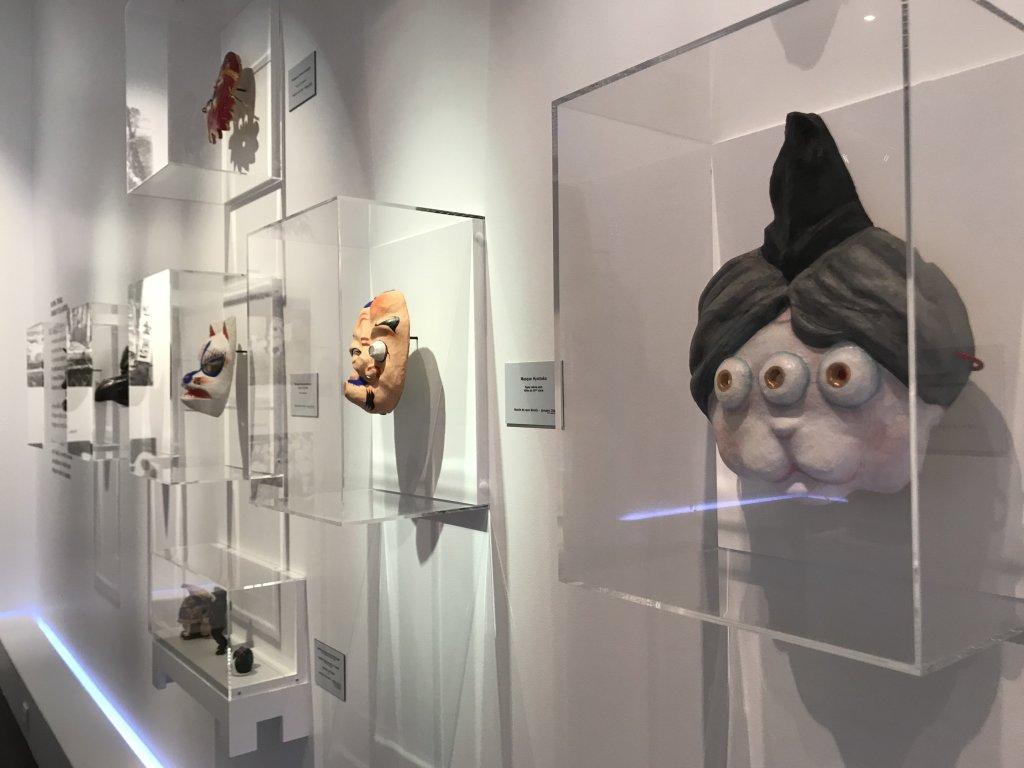 Vue de l'exposition Monstres, mangas et Murakami, Musée en herbe, Paris (107)