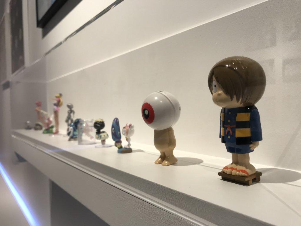 Vue de l'exposition Monstres, mangas et Murakami, Musée en herbe, Paris (109)