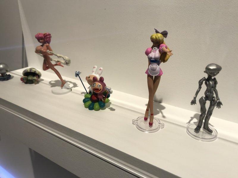 Vue de l'exposition Monstres, mangas et Murakami, Musée en herbe, Paris (111)