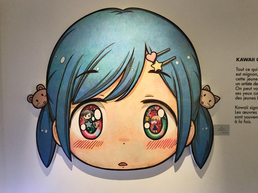 Vue de l'exposition Monstres, mangas et Murakami, Musée en herbe, Paris (112)
