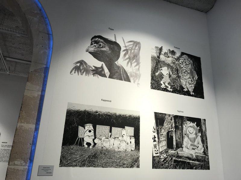 Vue de l'exposition Monstres, mangas et Murakami, Musée en herbe, Paris (122)