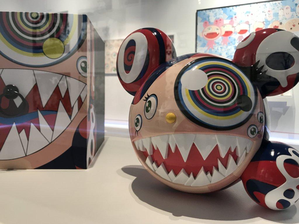 Vue de l'exposition Monstres, mangas et Murakami, Musée en herbe, Paris (124)