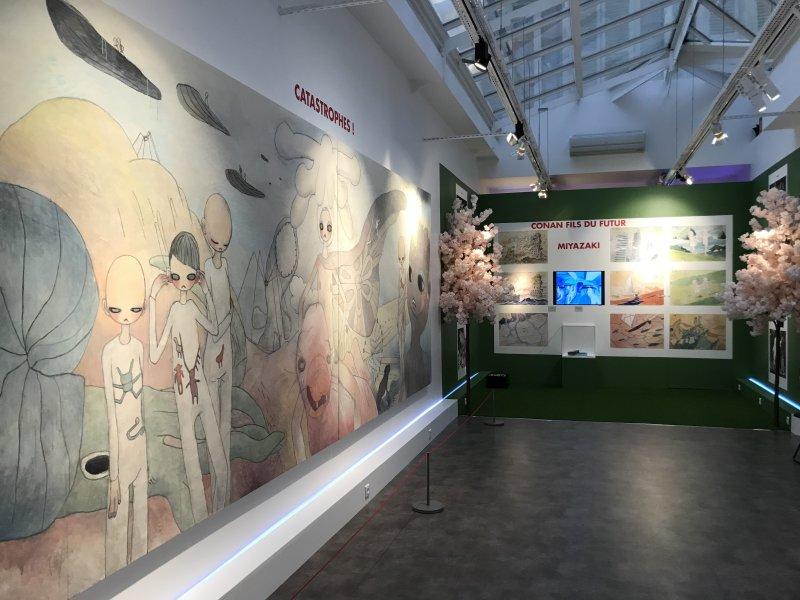 Vue de l'exposition Monstres, mangas et Murakami, Musée en herbe, Paris (126)