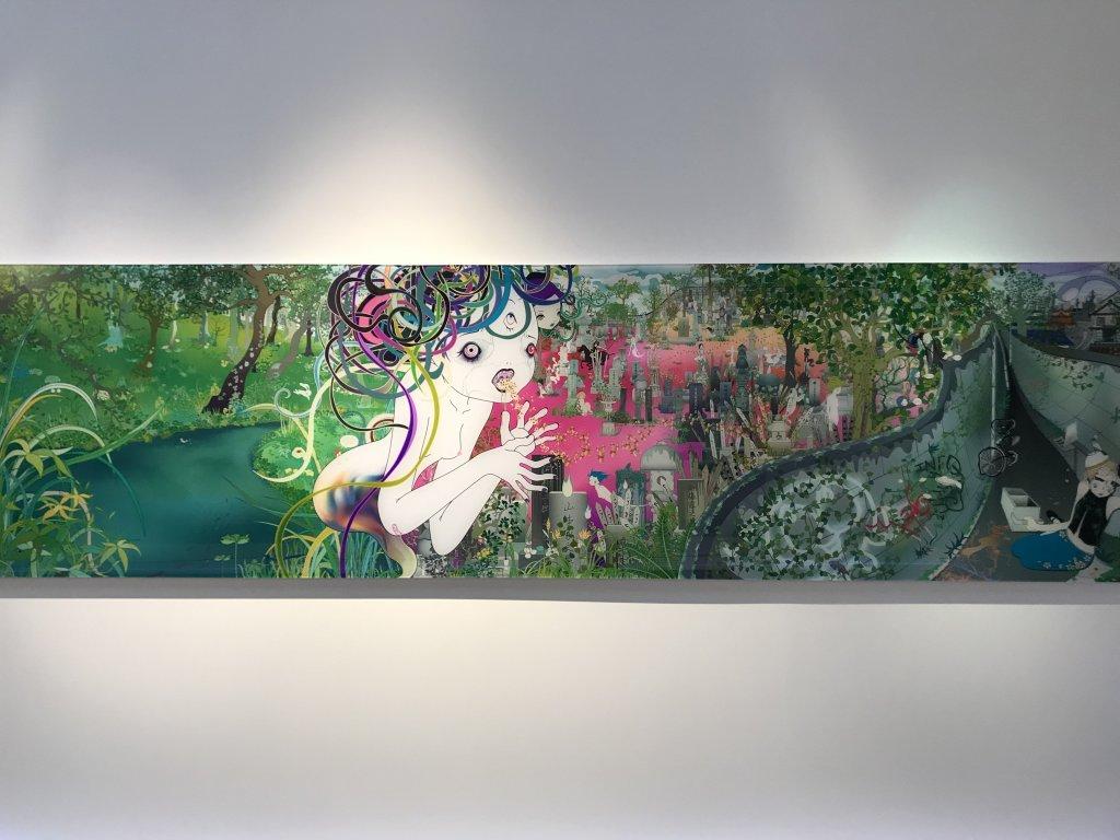 Vue de l'exposition Monstres, mangas et Murakami, Musée en herbe, Paris (130)