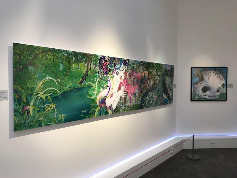 Vue de l'exposition Monstres, mangas et Murakami, Musée en herbe, Paris (135)