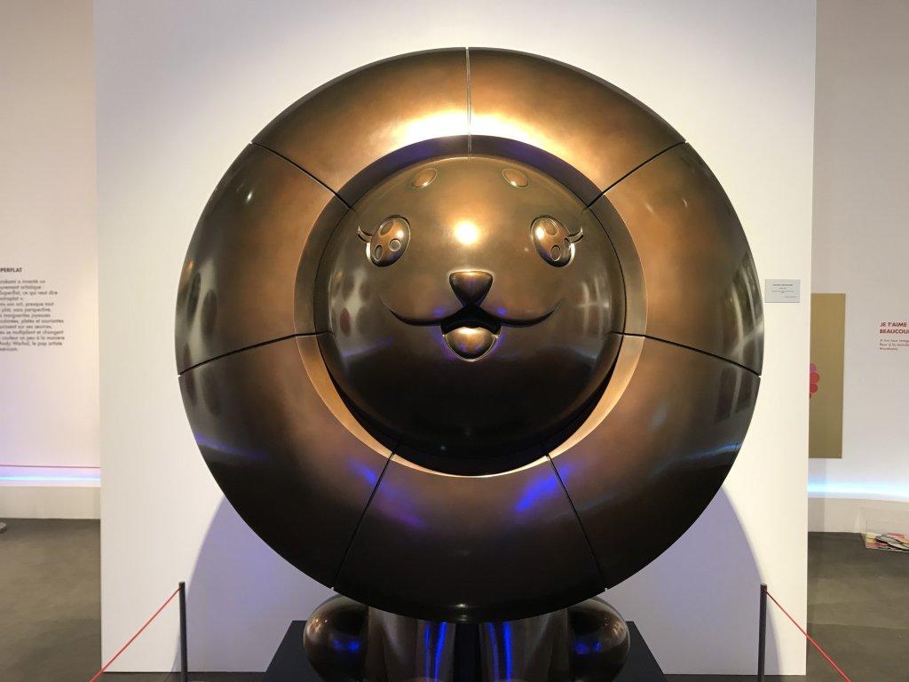 Vue de l'exposition Monstres, mangas et Murakami, Musée en herbe, Paris (75)