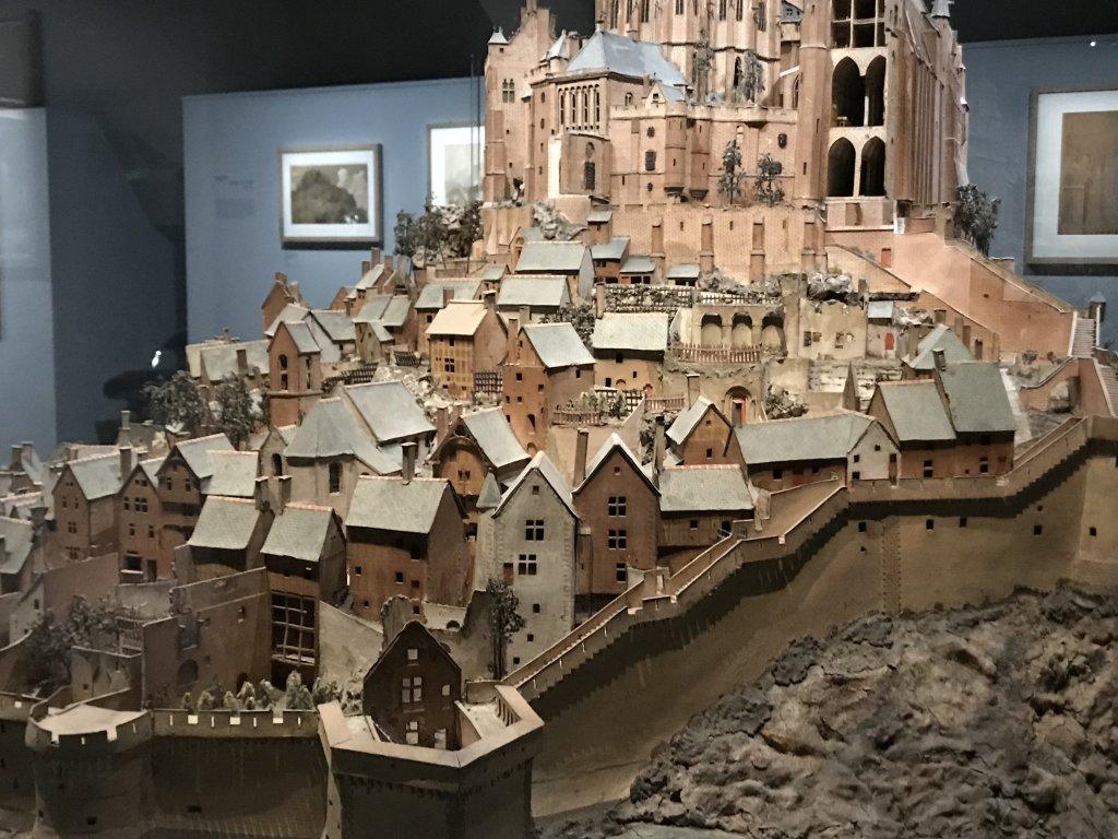 Vue de l'exposition Mont Saint-Michel, regards numériques sur la maquette - Musée des Plans-reliefs (10)