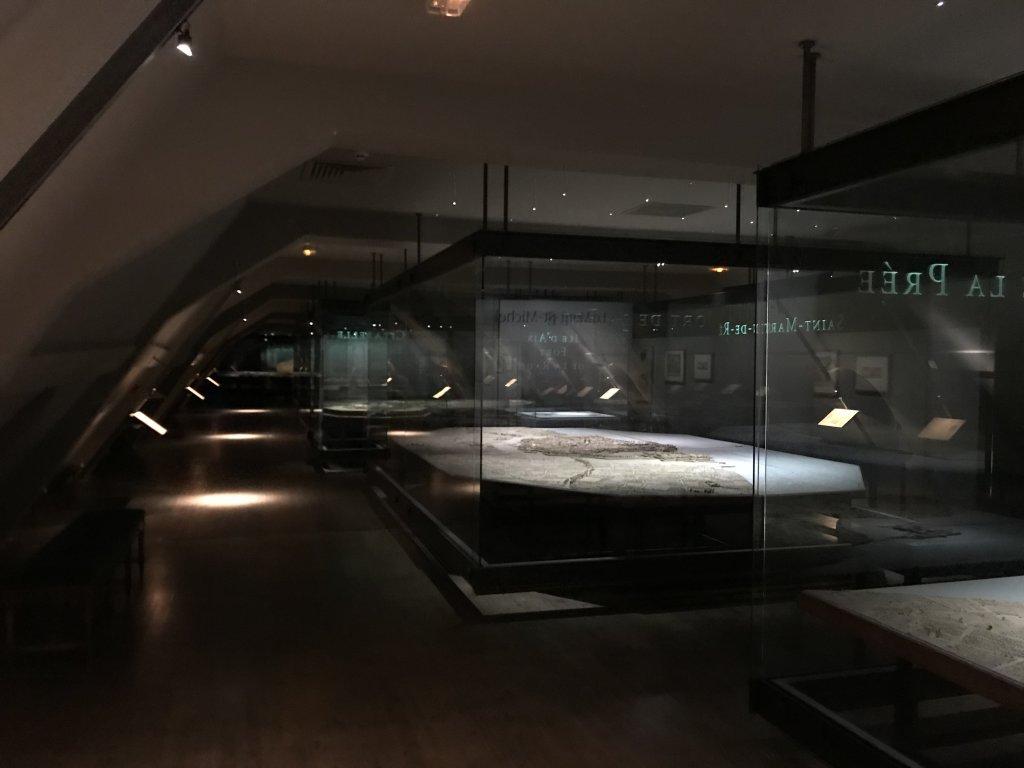 Vue de l'exposition Mont Saint-Michel, regards numériques sur la maquette - Musée des Plans-reliefs (11)