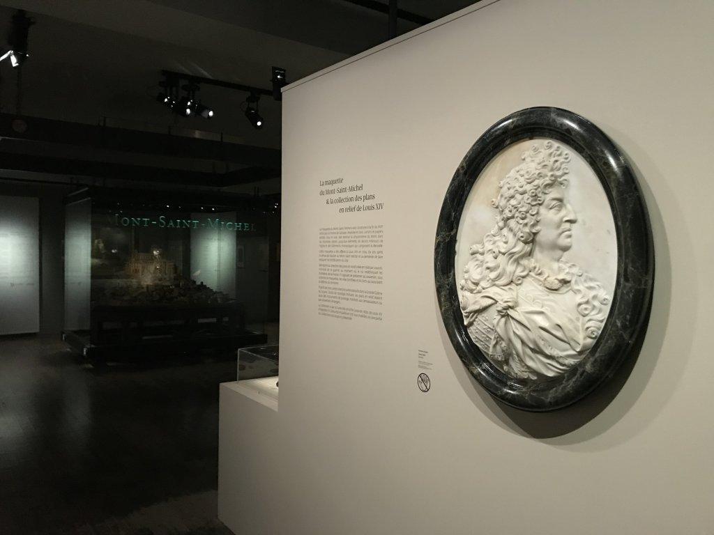 Vue de l'exposition Mont Saint-Michel, regards numériques sur la maquette - Musée des Plans-reliefs (19)