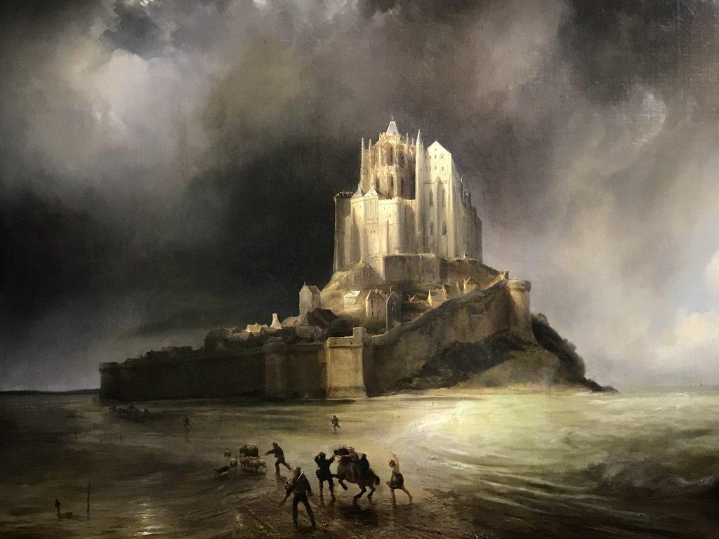 Vue de l'exposition Mont Saint-Michel, regards numériques sur la maquette - Musée des Plans-reliefs (2)