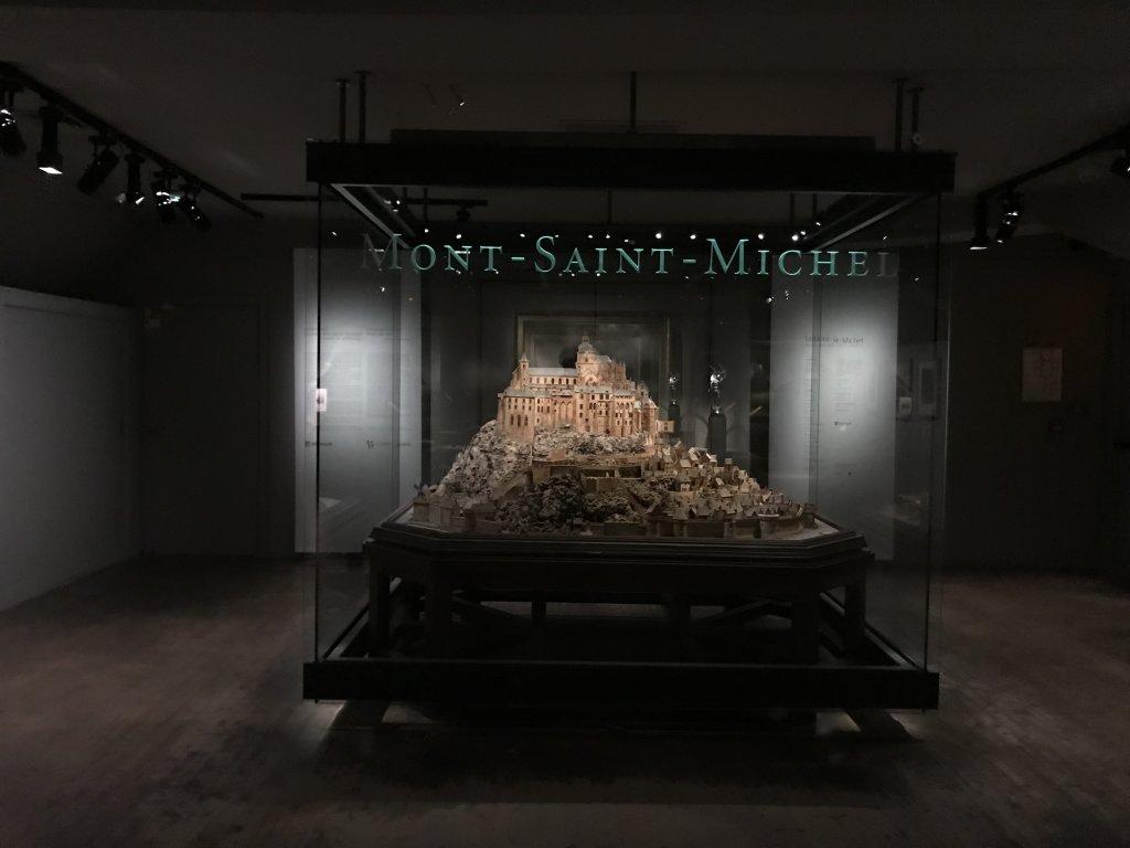 Vue de l'exposition Mont Saint-Michel, regards numériques sur la maquette - Musée des Plans-reliefs (21)