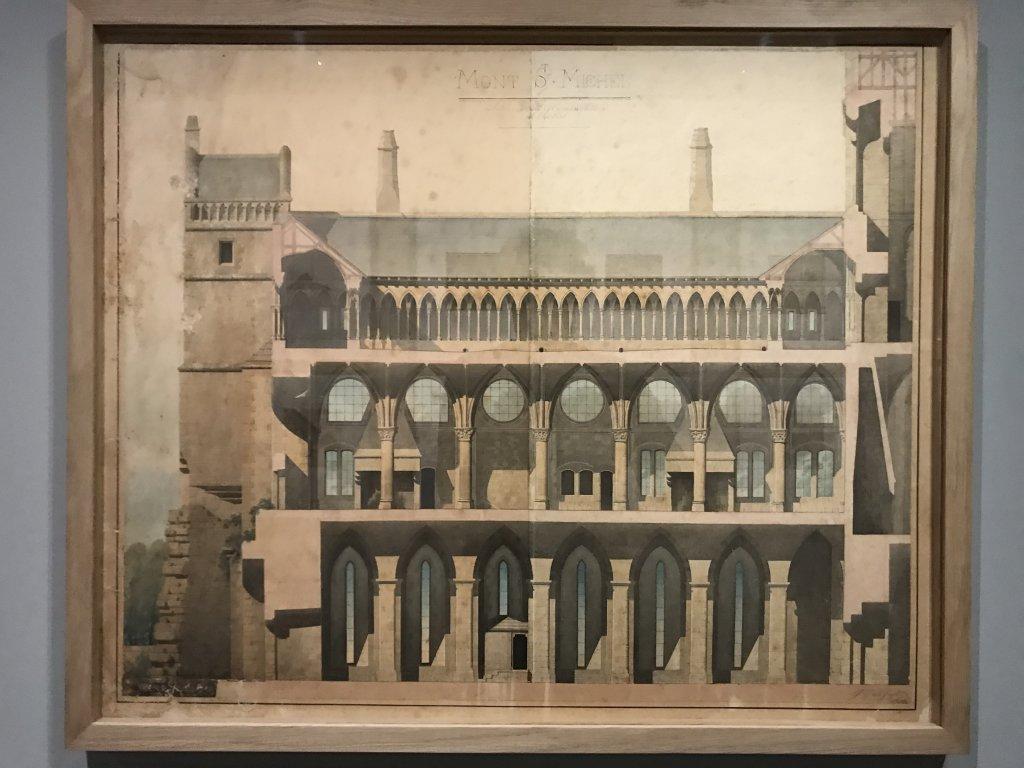 Vue de l'exposition Mont Saint-Michel, regards numériques sur la maquette - Musée des Plans-reliefs (22)