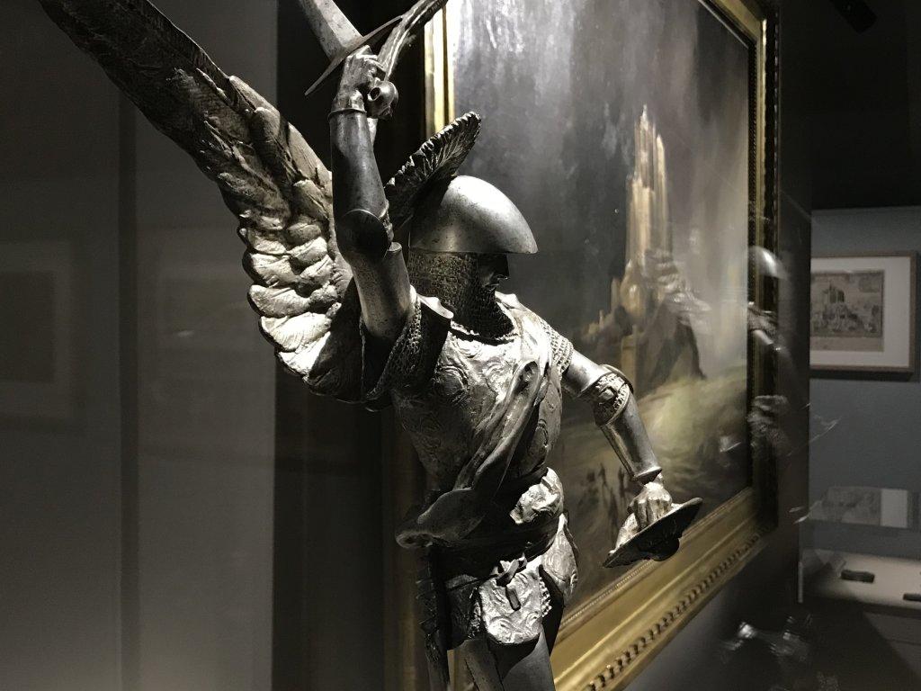 Vue de l'exposition Mont Saint-Michel, regards numériques sur la maquette - Musée des Plans-reliefs (4)