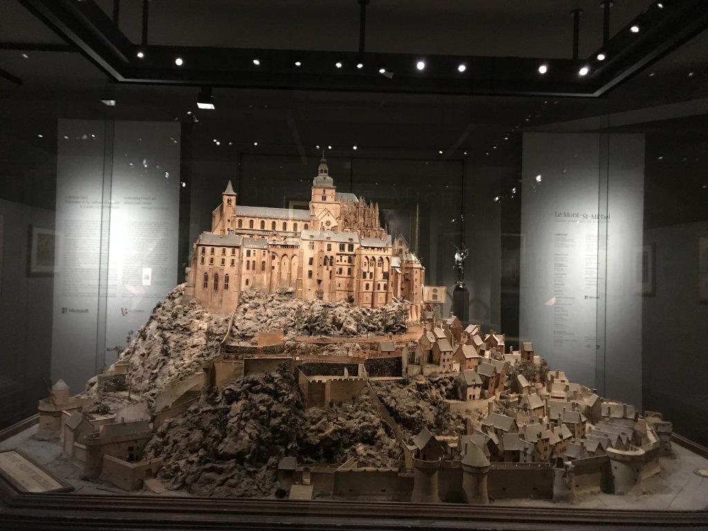 Vue de l'exposition Mont Saint-Michel, regards numériques sur la maquette - Musée des Plans-reliefs (7)