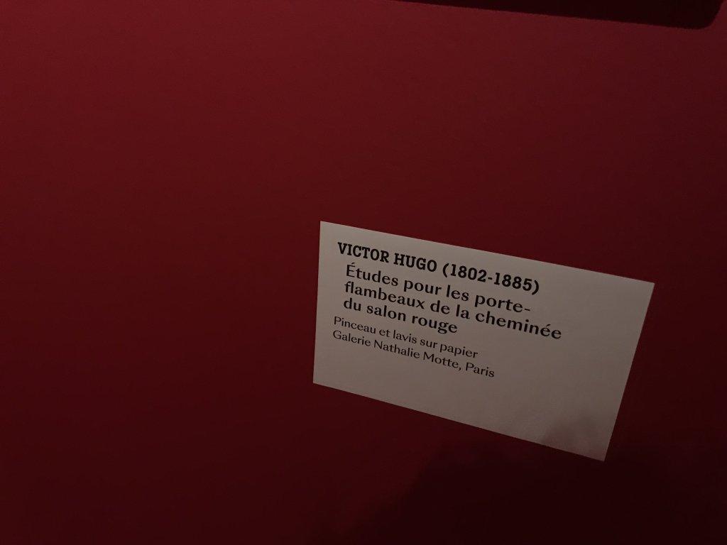 Vue de l'exposition - Portrait d'une maison - Maison de Victor Hugo - Paris (48)