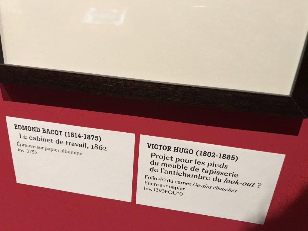 Vue de l'exposition - Portrait d'une maison - Maison de Victor Hugo - Paris (50)