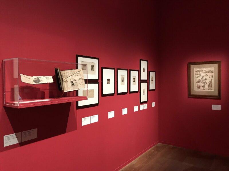 Vue de l'exposition - Portrait d'une maison - Maison de Victor Hugo - Paris (1)