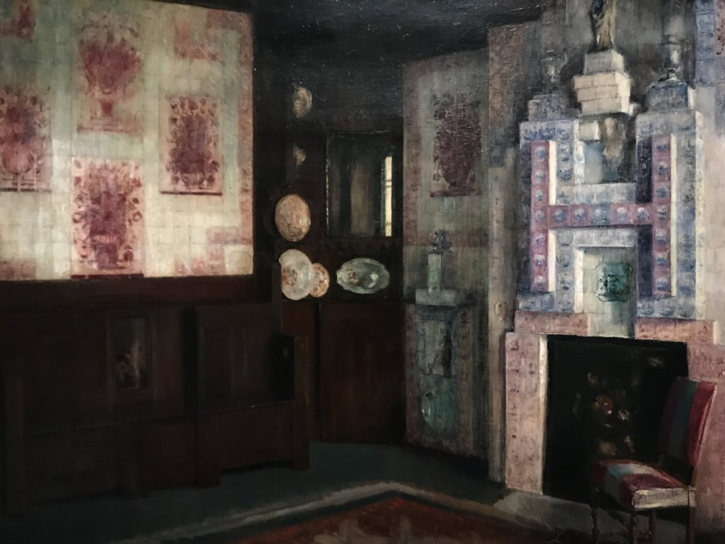 Vue de l'exposition - Portrait d'une maison - Maison de Victor Hugo - Paris (17)
