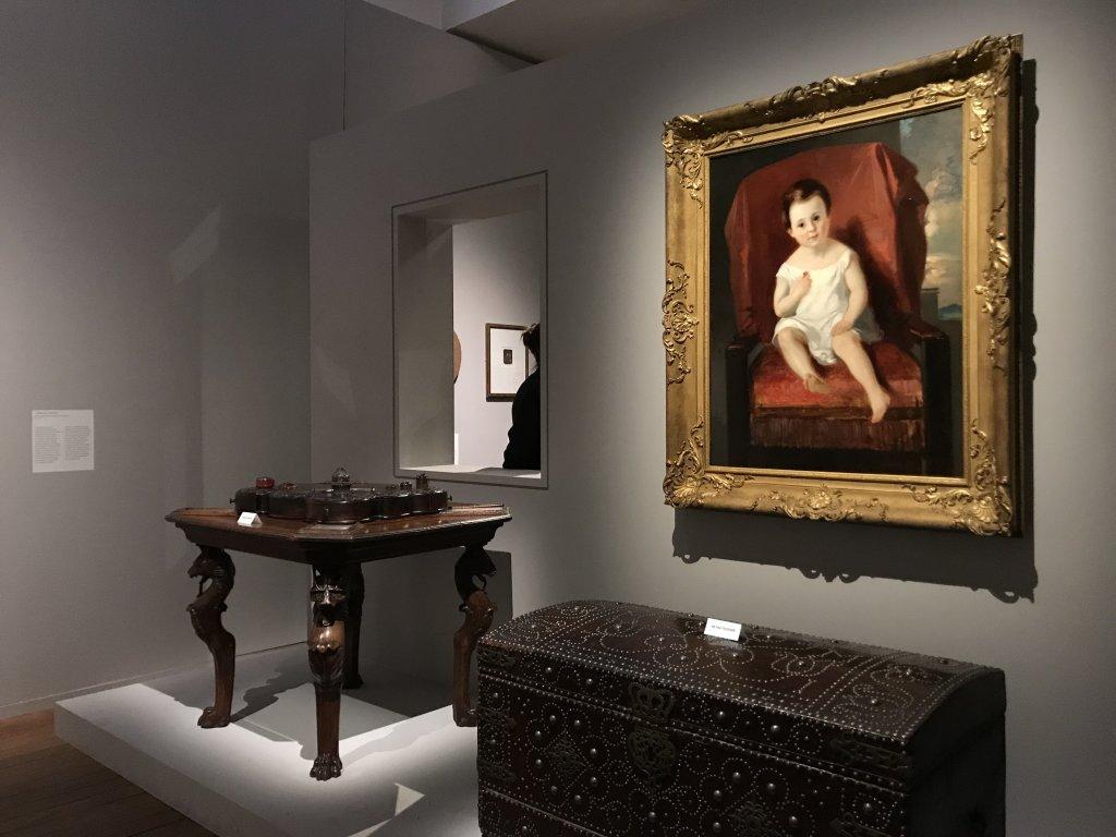 Vue de l'exposition - Portrait d'une maison - Maison de Victor Hugo - Paris (3)