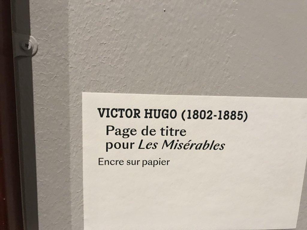 Vue de l'exposition - Portrait d'une maison - Maison de Victor Hugo - Paris (34)