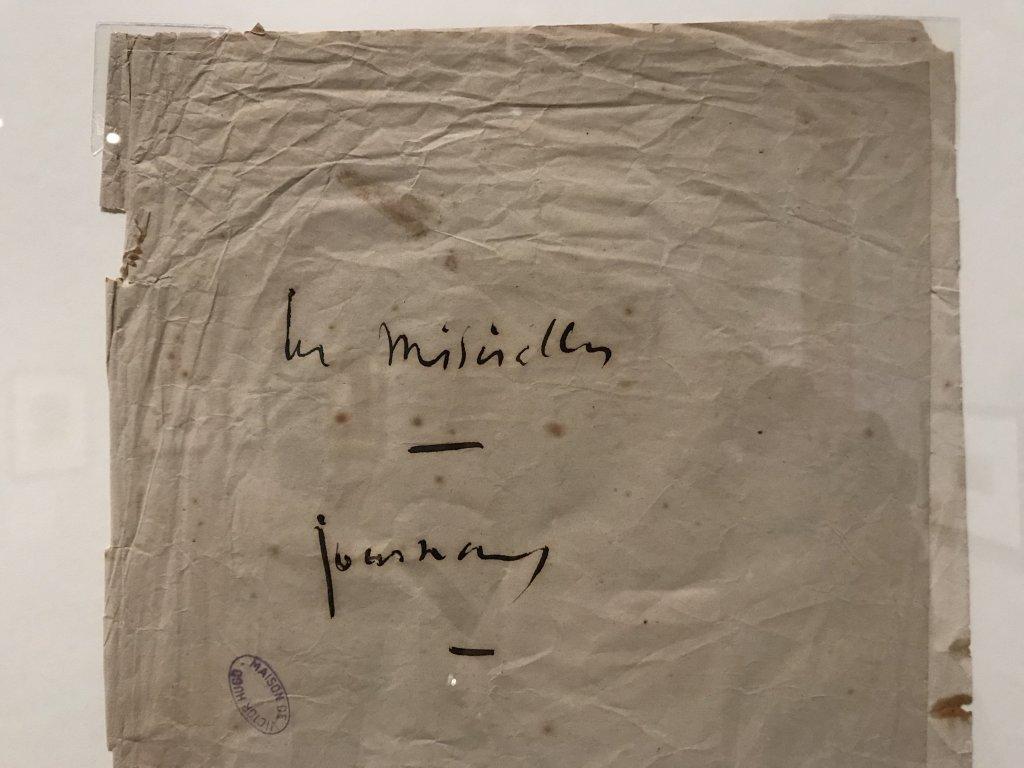 Vue de l'exposition - Portrait d'une maison - Maison de Victor Hugo - Paris (35)