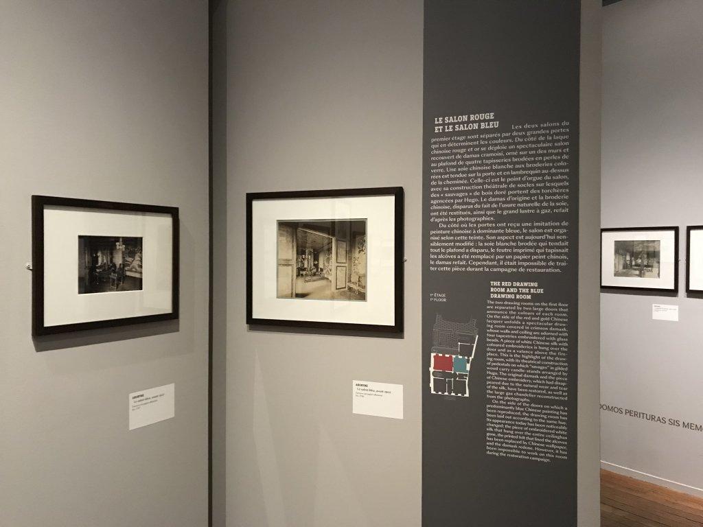 Vue de l'exposition - Portrait d'une maison - Maison de Victor Hugo - Paris (39)