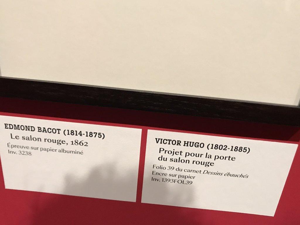 Vue de l'exposition - Portrait d'une maison - Maison de Victor Hugo - Paris (44)