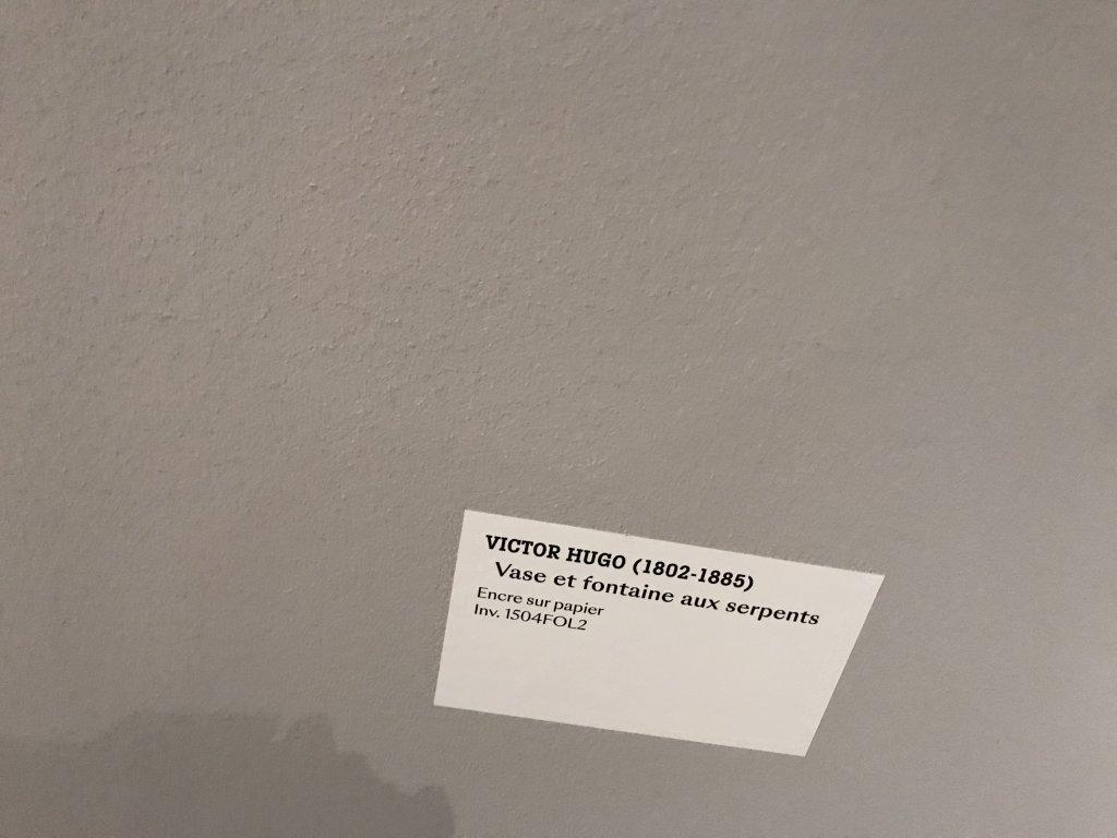 Vue de l'exposition - Portrait d'une maison - Maison de Victor Hugo - Paris (70)