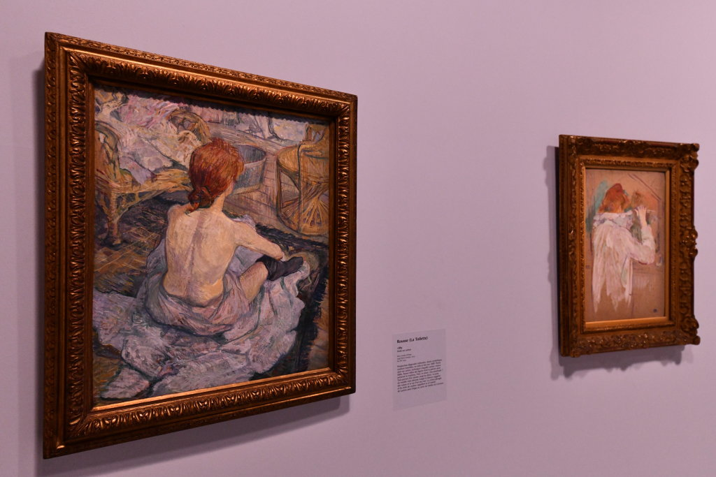 Vue d'exposition Toulouse Lautrec - Grand Palais - Paris (13)