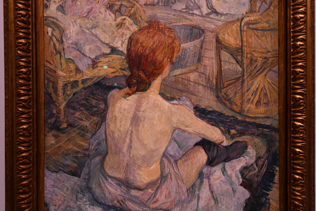 Vue d'exposition Toulouse Lautrec - Grand Palais - Paris (14)