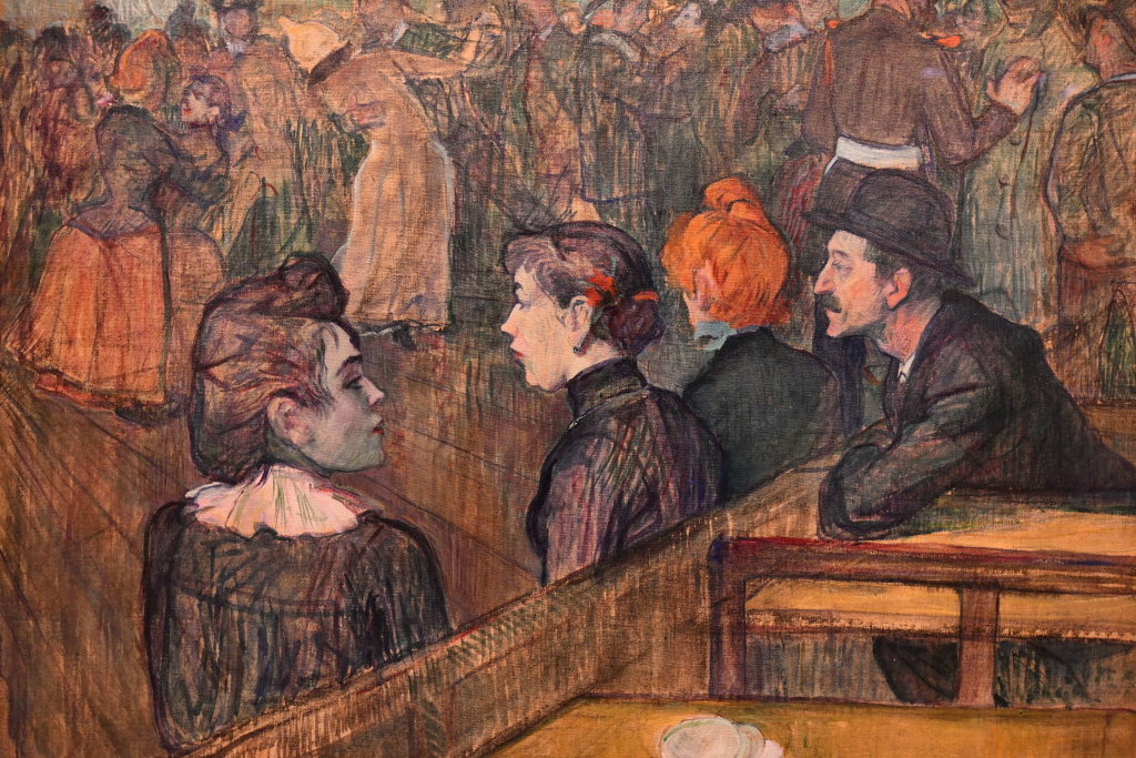 Vue d'exposition Toulouse Lautrec - Grand Palais - Paris (26)