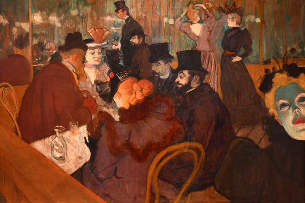Vue d'exposition Toulouse Lautrec - Grand Palais - Paris (28)