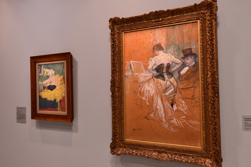 Vue d'exposition Toulouse Lautrec - Grand Palais - Paris (39)