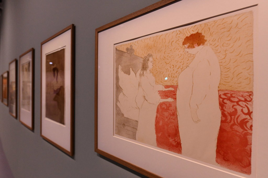 Vue d'exposition Toulouse Lautrec - Grand Palais - Paris (46)