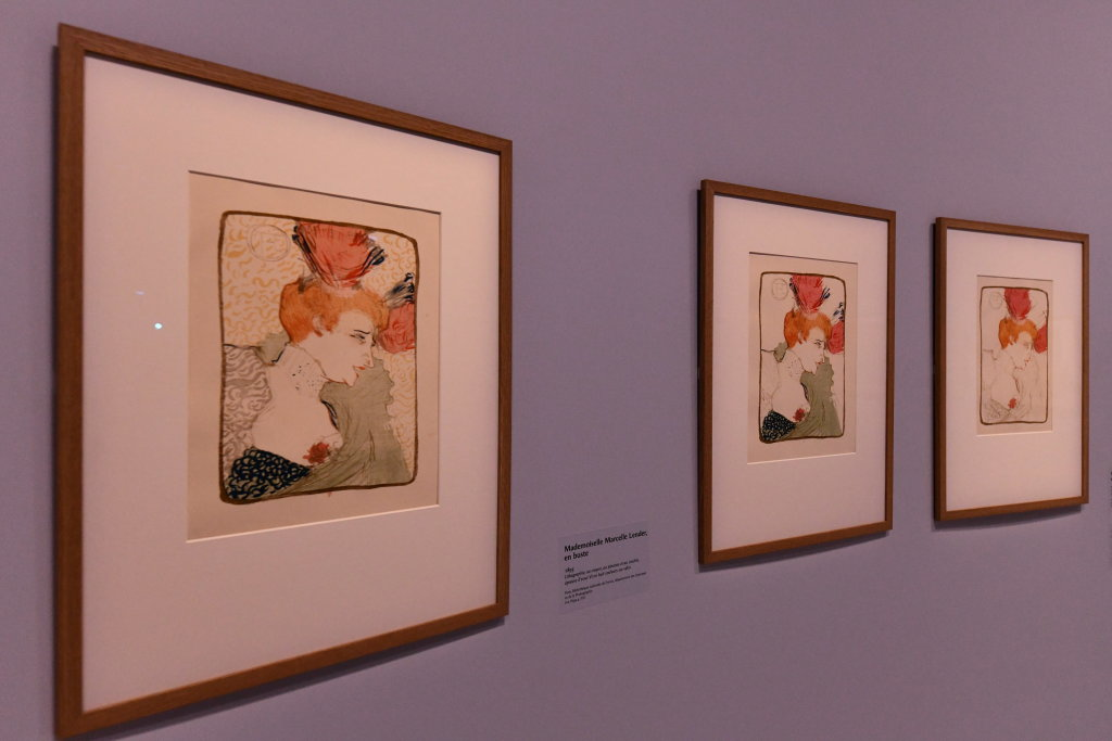 Vue d'exposition Toulouse Lautrec - Grand Palais - Paris (49)