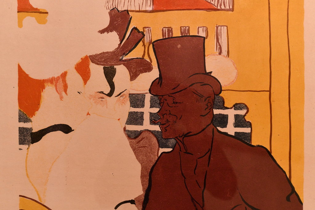 Vue d'exposition Toulouse Lautrec - Grand Palais - Paris (62)