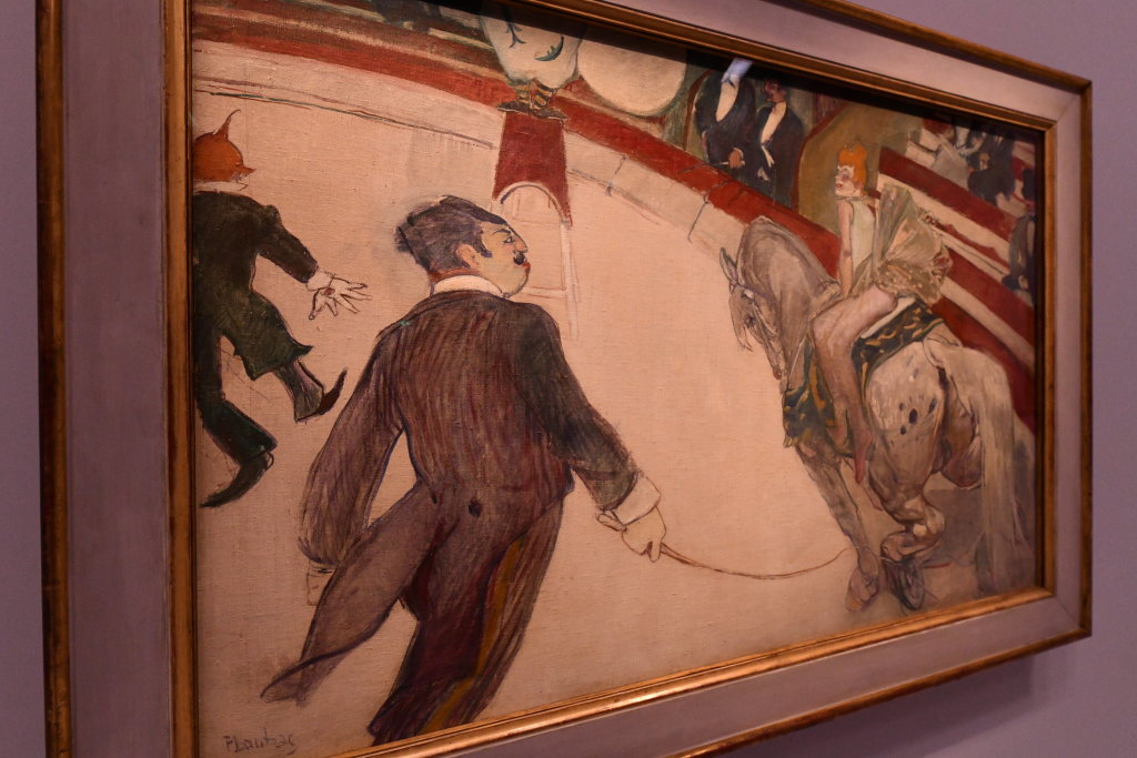 Vue d'exposition Toulouse Lautrec - Grand Palais - Paris (67)