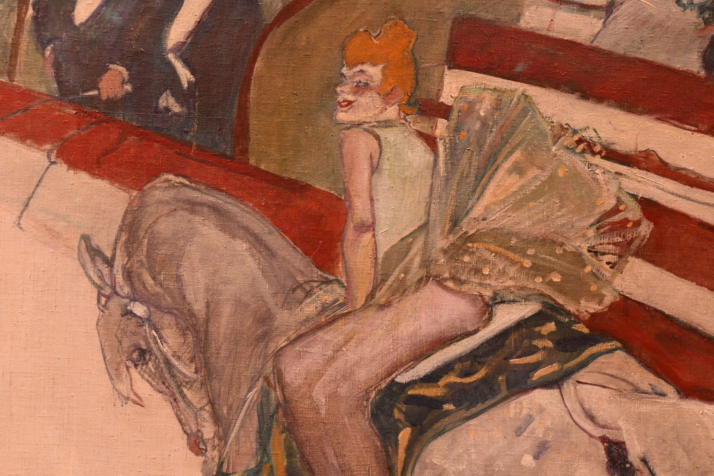 Vue d'exposition Toulouse Lautrec - Grand Palais - Paris (69)