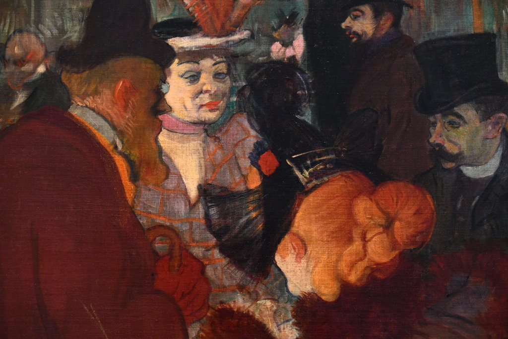 Vue d'exposition Toulouse Lautrec - Grand Palais - Paris (76)
